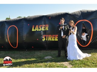 Laser Game LaserStreet - Mariage Nico et Chloé, Beaucouzé - Photo N°5