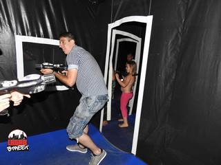 Laser Game LaserStreet - Mariage Giulia & Andrea, Cipressa, Italie - Photo N°31
